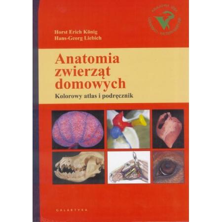 Anatomia zwierząt domowych. Kolorowy atlas i podręcznik