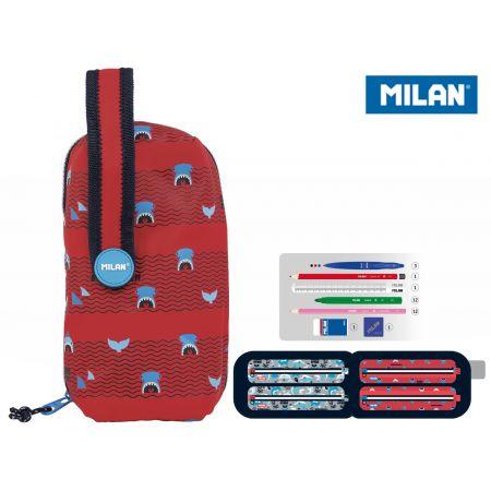 Multipiórnik owalny Shark Attack czerwony MILAN