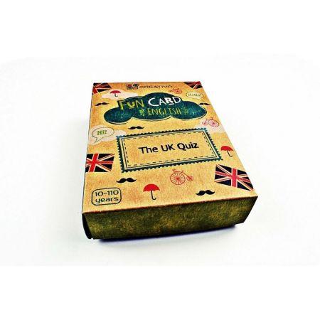 Fun Card English The UK Quiz CREATIVO