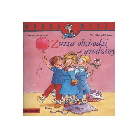 Mądra mysz - Zuzia obchodzi urodziny