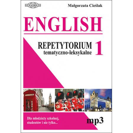 English. Repetytorium 1 tem-leks.+ mp3 WAGROS