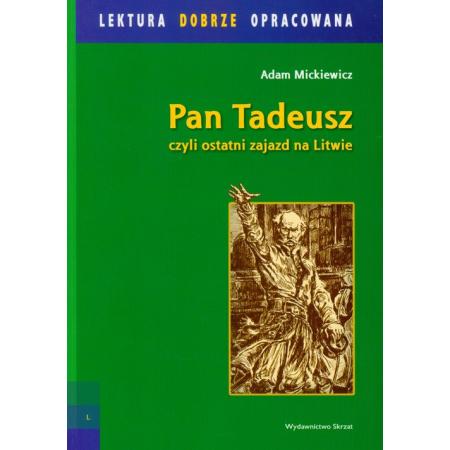 Znalezione obrazy dla zapytania Adam Mickiewicz : Pan Tadeusz Skrzat
