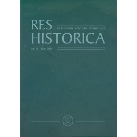 Res Historica 31