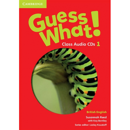 Guess What 1. Class Audio 3CD. British English