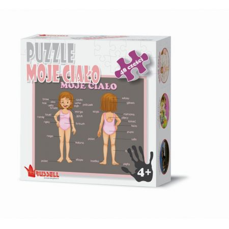 Puzzle 48 - Moje Ciało RUSSEL