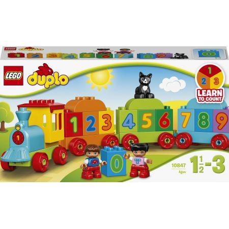 LEGO DUPLO. Pociąg z cyferkami 10847