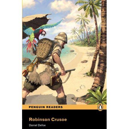 PEGR Robinson Crusoe Bk/MP3 CD (2)