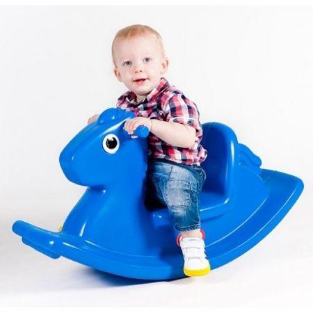Koń na Biegunach - Niebieski