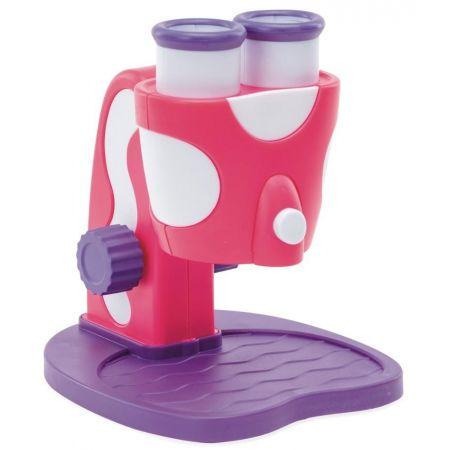 GeoSafari Jr. Mikroskop dla dzieci x 8 (różowy)