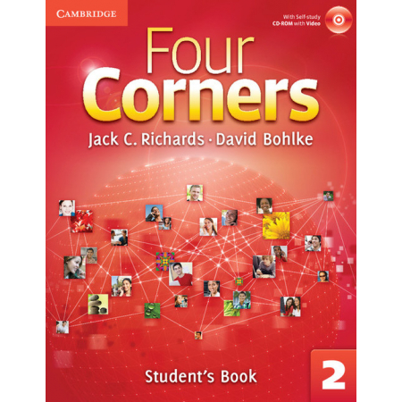 Four Corners 2 Student's Book with Self-study CD-ROM and Online Workbook