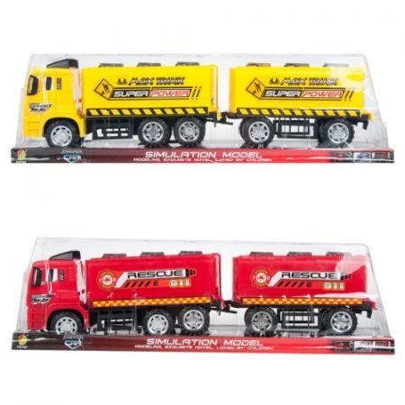 Auto ciężarowe z przyczepą 57x17x12cm MC