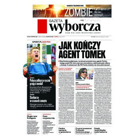 Gazeta Wyborcza - Łódź 193/2016