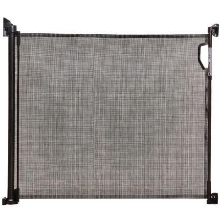 Bramka zabezpieczająca Roll Up (W: 140cm x H: 81,5cm) - czarna