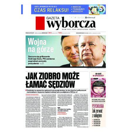 Gazeta Wyborcza - Olsztyn 172/2017
