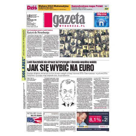 Gazeta Wyborcza - Częstochowa 254/2008
