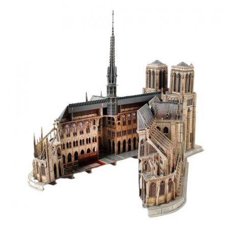 Puzzle 3D. Notre Dame de Paris
