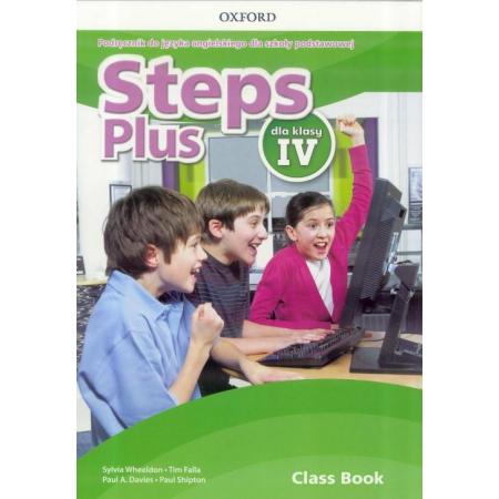 Steps Plus dla klasy IV. Podręcznik z nagraniami audio