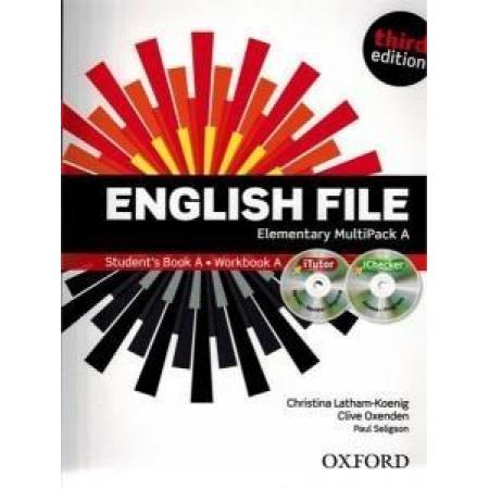 English File 3E Elementary Multipack A OXFORD