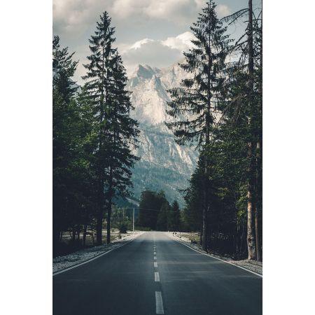 Droga w góry  - plakat