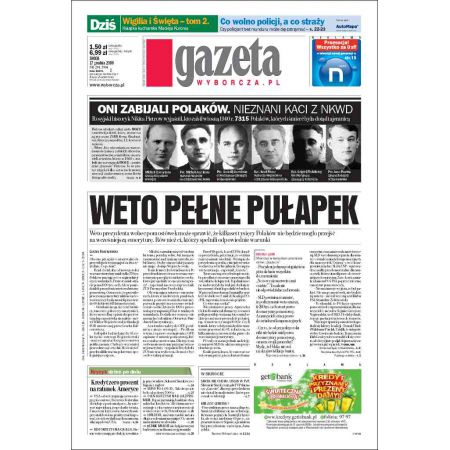 Gazeta Wyborcza - Kielce 294/2008