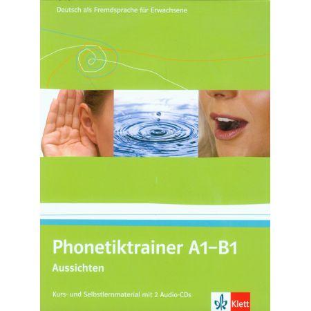 Phonetiktrainer A1-B1 Aussichten + 2CD LEKTORKLETT