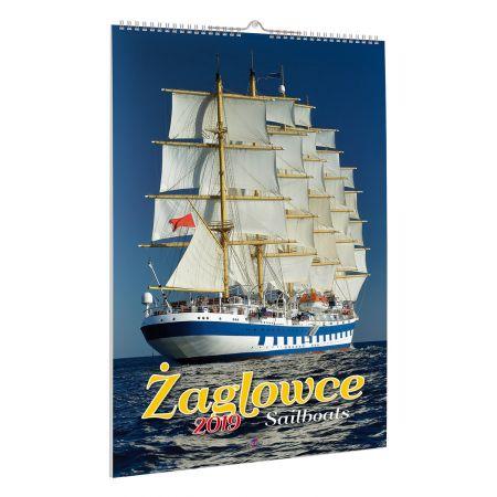 Kalendarz 2019 żaglowce a39
