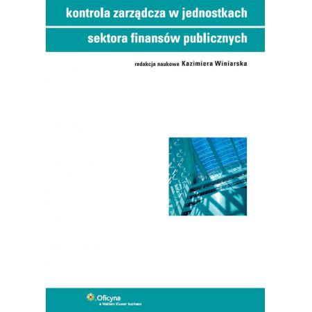 Kontrola zarządcza w jednostkach sektora finansów publicznych