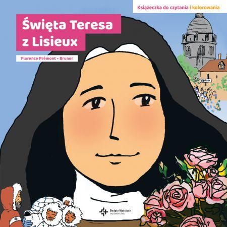 Święta teresa z lisieux książeczka  do czytania i kolorowania