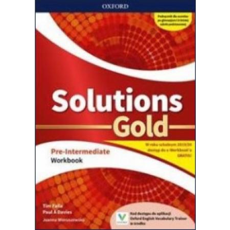Solutions Gold Pre-intermediate Workbook. Zeszyt ćwiczeń do języka angielskiego
