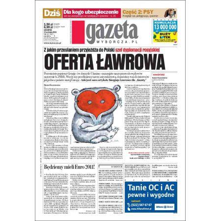 Gazeta Wyborcza - Zielona Góra 213/2008