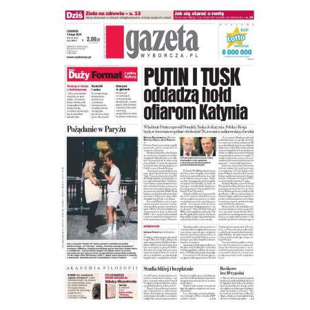 Gazeta Wyborcza - Białystok 29/2010