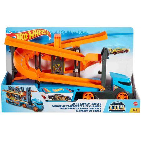 Hot Wheels City Transporter. Tory zjazdowe 2w1