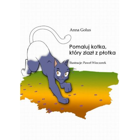 Pomaluj kotka, który zlazł z płotka