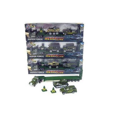 Truck+2 pojazdy w pud. JP7101 Cena za sztukę