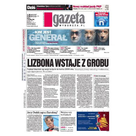 Gazeta Wyborcza - Płock 290/2008