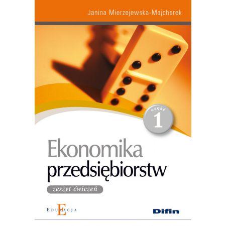 Ekonomika przedsiębiorstw 1  Zeszyt ćwiczeń