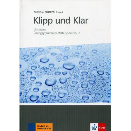 Klipp und Klar. Losungen Mittelstufe B2/C1