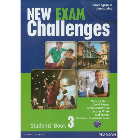 Exam Challenges New 3 SB PEARSON