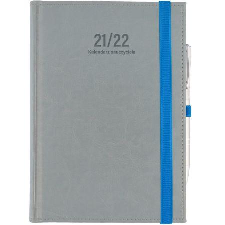 Kalendarz nauczyciela B6 2021/2022 dz jasnoszary