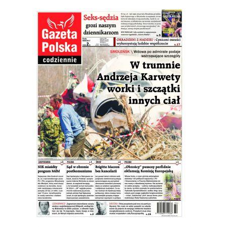 Gazeta Polska Codziennie 184/2017