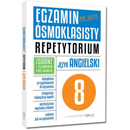 Egzamin ósmoklasisty. Język angielski. Repetytorium