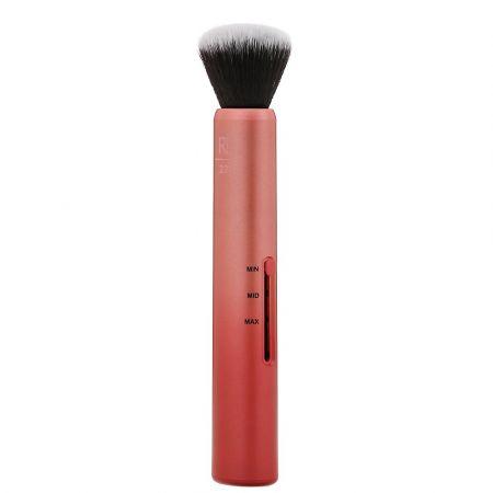 REAL TECHNIQUES_Custom Complexion 3in1 Brush pędzel do makijażu z regulacją gęstości włosia