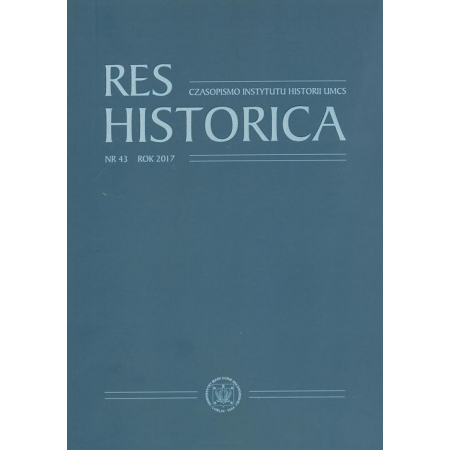 Res Historica T.43