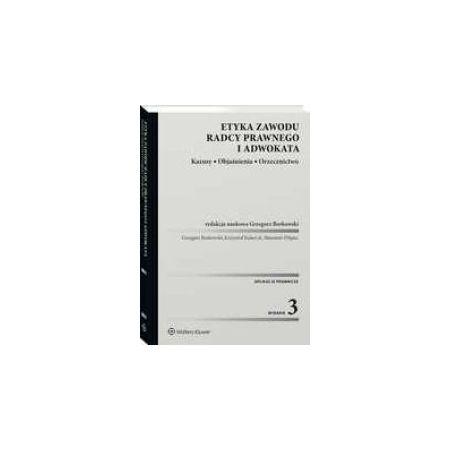 Etyka zawodu radcy prawnego i adwokata