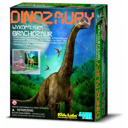Wykopaliska Brachiozaur 0596 RUSSELL