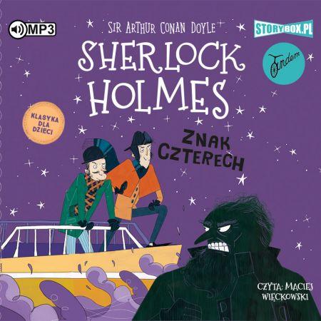 CD MP3 Znak czterech. Sherlock Holmes. Tom 2