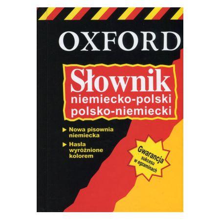 Słownik niemiecko-polski; polsko-niemiecki - OXFORD