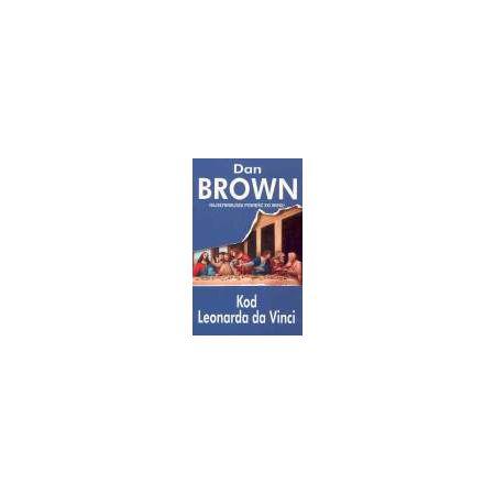 Zestaw 3 książek Dan'a Brown'a: Kod Leonarda da Vinci + Cyfrowa Twierdza + Anioły i demony