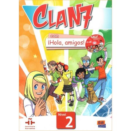 Clan 7 con Hola amigos 2 Podręcznik