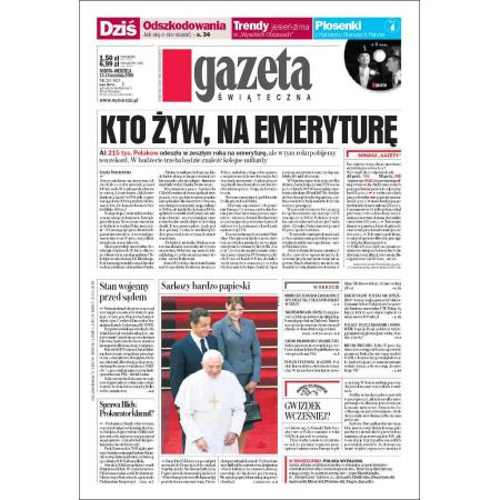 Gazeta Wyborcza - Kielce 215/2008